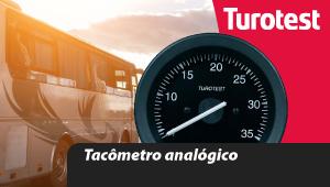 Tacômetro analógico