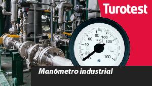 Manômetro industrial
