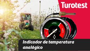 Indicador de temperatura analógico