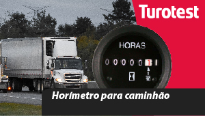 Horímetro para caminhão