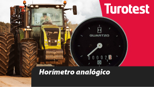 Horímetro analógico