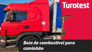 Boia de combustível para caminhão