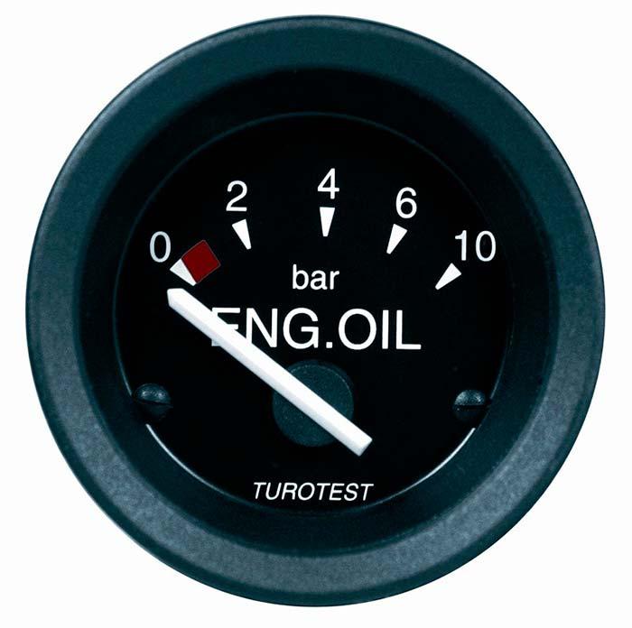 Indicador de pressão de óleo