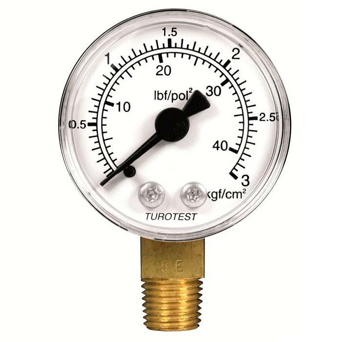 Manômetro compressor