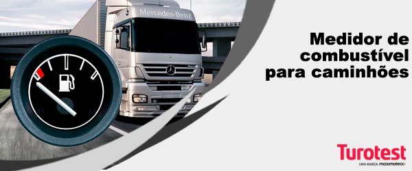 Medidor de combustível para caminhões